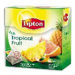 "Lipton ""Tropical Fruit"" пирамидки 20 пакеов"