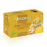 Чай Alokozay травяной чай имбирь+лимон 25 пакетов