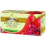 ЧайTwinings черный Четыре красные ягоды 25 пак