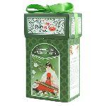 Чай PLUM SNOW картон Зеленая Улитка Чабрец и Мята 100 гр.зеленый