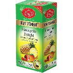 ТИ ТЭНГ Тропическая смесь с ананасом  зеленый 20 пакетов