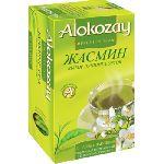 Чай Alokozay зеленый чай с жасмином 25 пакетов