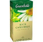 GREENFIELD RICH CAMOMILE  25 пакетов