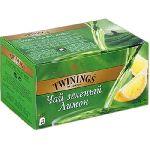 """Twinings """"Зеленый с лимоном"""" 25 с/я пакетов"""