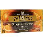 ЧайTwiningsЧерный с ароматом и кусочками апельсина и корицы 25 пак.