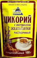 ЗДОРОВЬЕ  цикорий женьшень 100 гр. порошок м/у